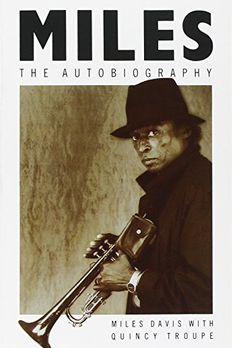 Miles - the Autobiography by Miles Davis book cover