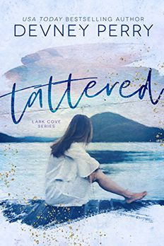 Tattered book cover