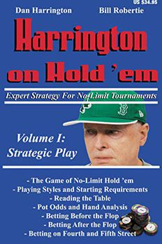 Harrington on Hold 'em Expert Strategy for No Limit Tournaments book cover