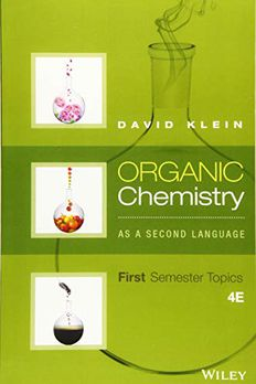 Organic Chemistry As a Second Language book cover