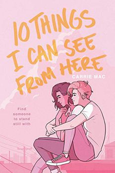 10 Things I Can See From Here book cover