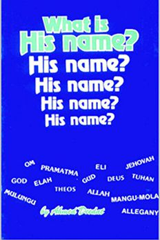 What Is His Name? book cover