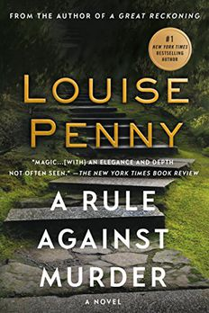 A Rule Against Murder book cover