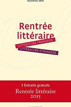 Rentrée littéraire book cover