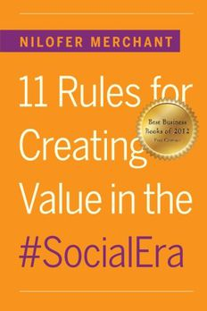 11 Rules for Creating Value In #SocialEra book cover