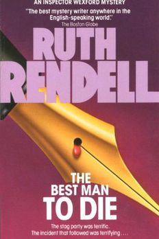 The Best Man to Die book cover