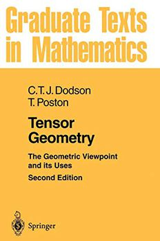 Tensor Geometry book cover