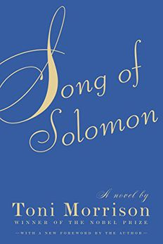 Song of Solomon book cover