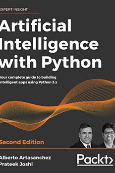 Artificial Intelligence with Python book cover