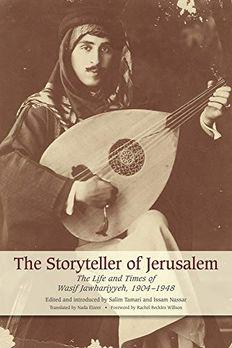 Storyteller of Jerusalem book cover