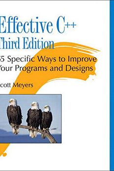 Effective C++ book cover