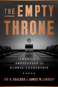 The Empty Throne book cover