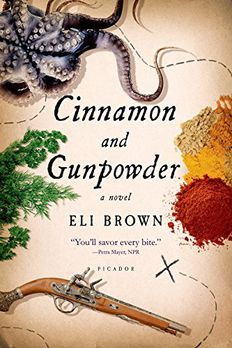 Cinnamon and Gunpowder book cover
