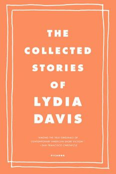 The Collected Stories of Lydia Davis book cover