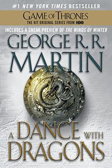 A Dance with Dragons book cover