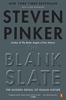 The Blank Slate book cover