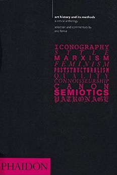 Art History and Its Methods book cover