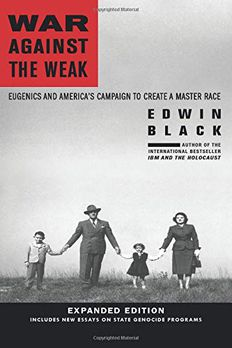 War Against the Weak book cover