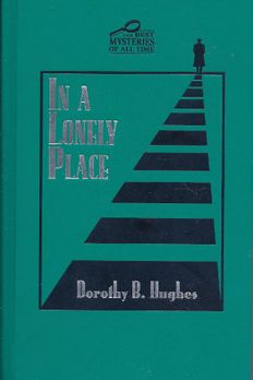 In a Lonely Place book cover