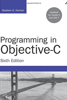 Programming in Objective-C book cover
