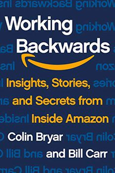 Working Backwards book cover