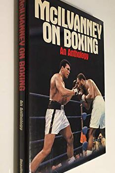 McIlvanney on boxing book cover