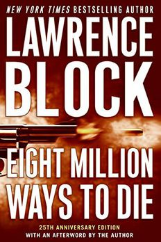 Eight Million Ways to Die book cover