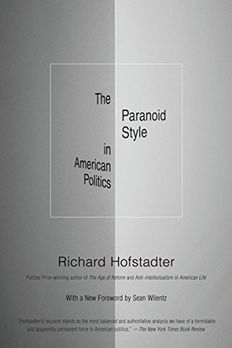 The Paranoid Style in American Politics book cover