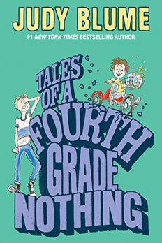 Tales of a Fourth Grade Nothing book cover