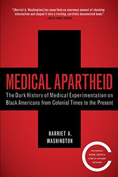 Medical Apartheid book cover