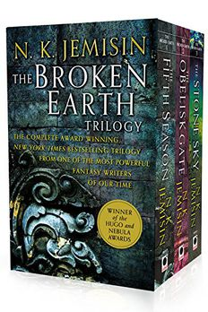 The Broken Earth Trilogy book cover