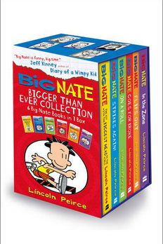 Big Nate Series Collection Lincoln Peirce 6 Books Box Set Gift Pack book cover
