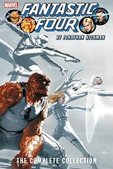 Fantastic Four by Jonathan Hickman book cover