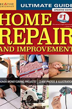 Ultimate Guide to Home Repair and Improvement, Updated Edition book cover
