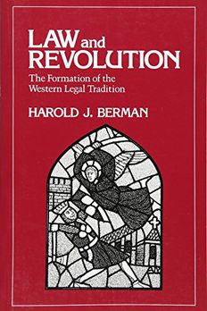 Law and Revolution book cover