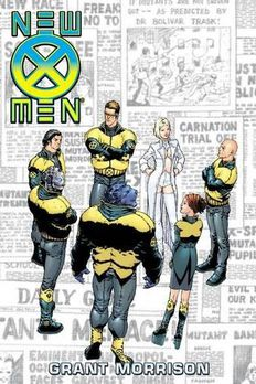 New X-Men Omnibus book cover