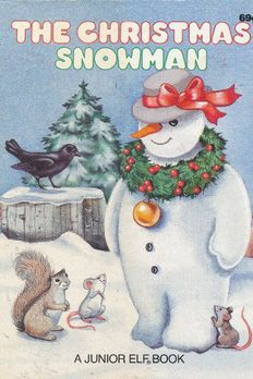 The Christmas Snowman book cover