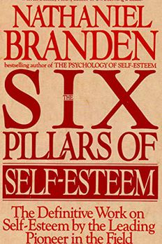 The Six Pillars of Self-Esteem book cover
