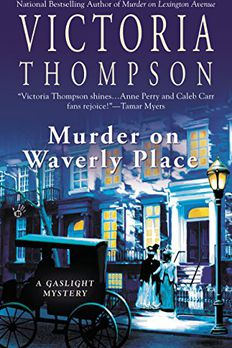 Murder on Waverly Place book cover