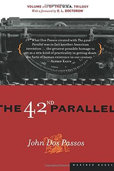 The 42nd Parallel book cover