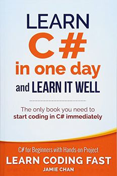 Learn C# in One Day and Learn It Well book cover