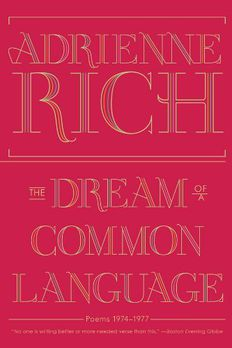 The Dream of a Common Language book cover