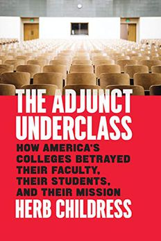 The Adjunct Underclass book cover