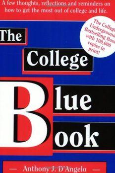 The College Blue Book book cover