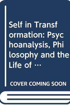 The Self in Transformation book cover