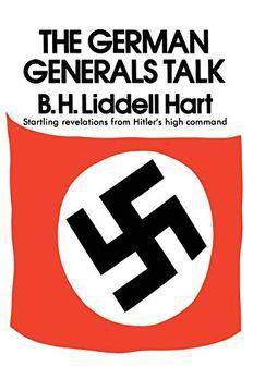 The German Generals Talk book cover