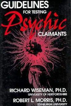 Guidelines for Testing Psychic Claimants book cover