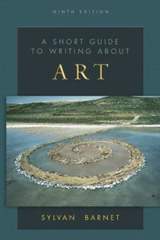 By Sylvan Barnet - A Short Guide to Writing About Art, 9th Edition book cover