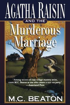 AGATHA RAISIN AND THE MURDEROUS MARRIAGE book cover