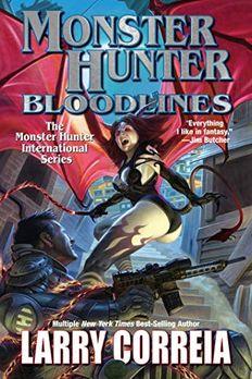 Monster Hunter Bloodlines book cover